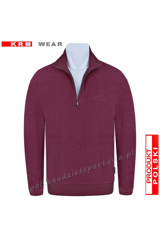 Bluza swetrowa TS S-KZ bordo