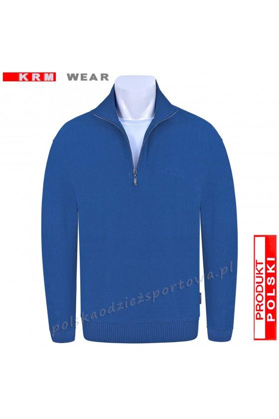 Bluza swetrowa TS S-KZ  blue