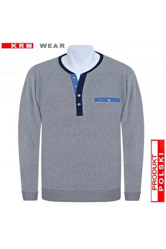Bluza swetrowa SG melanż