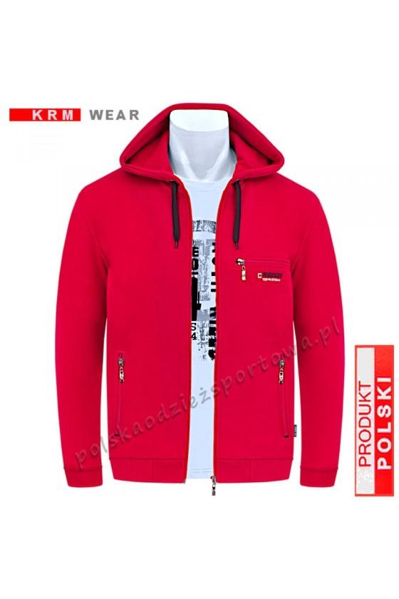 Bluza sportowa TSKZ CLASSIC 2G czerwona