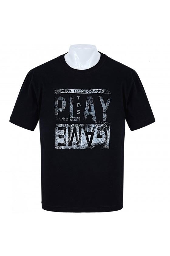 Koszulka sportowa TS PLAY czarna