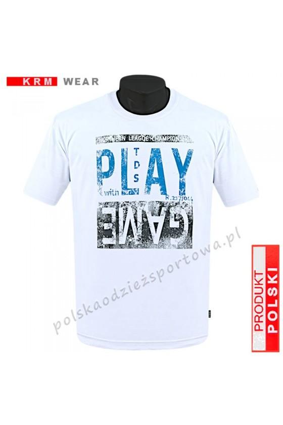 Koszulka sportowa TS PLAY biała