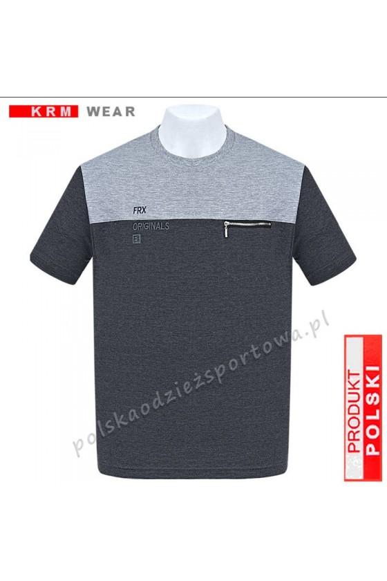Koszulka Sportowa FR ORIGINAL antracyt/melanz