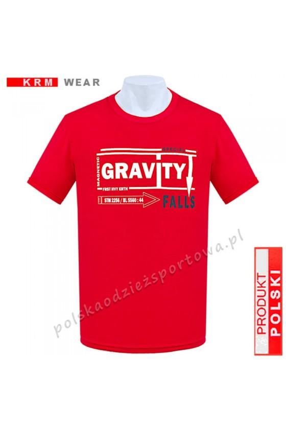 Koszulka  sportowa GRAVITY czerwona