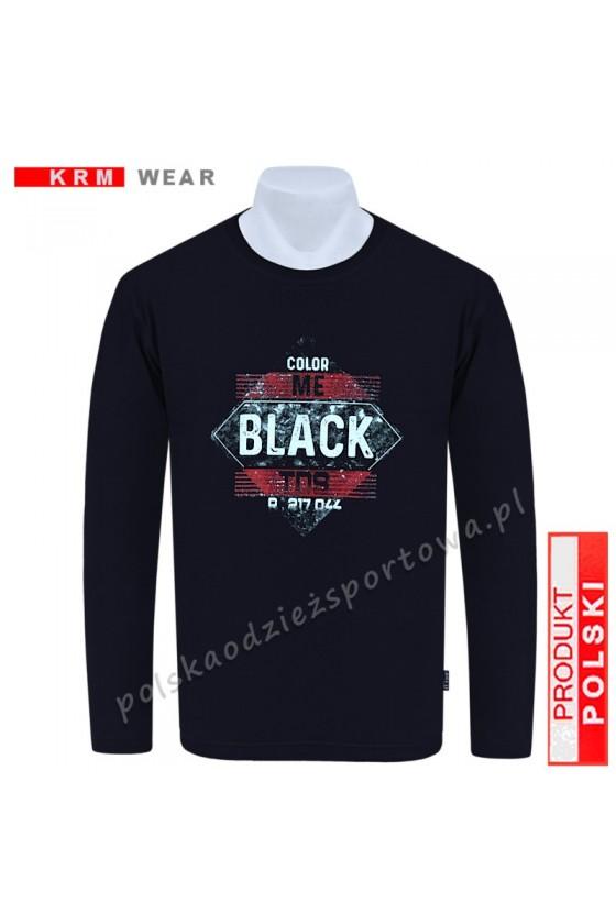 Longsleeve TS BLACK czarny