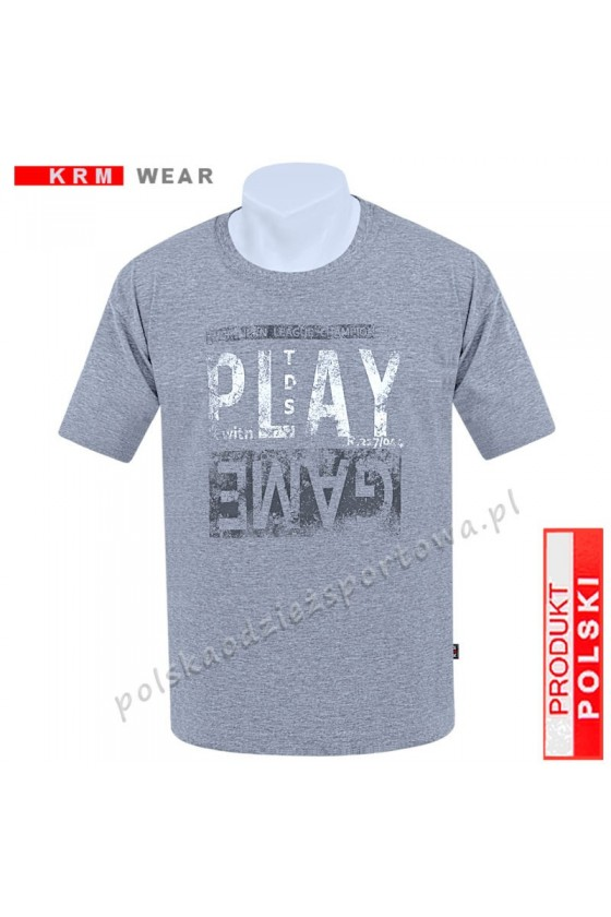 Koszulka sportowa TS PLAY melanż