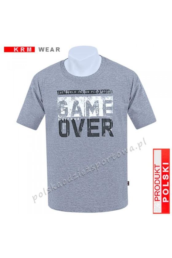 Koszulka sportowa TS GAME melanż