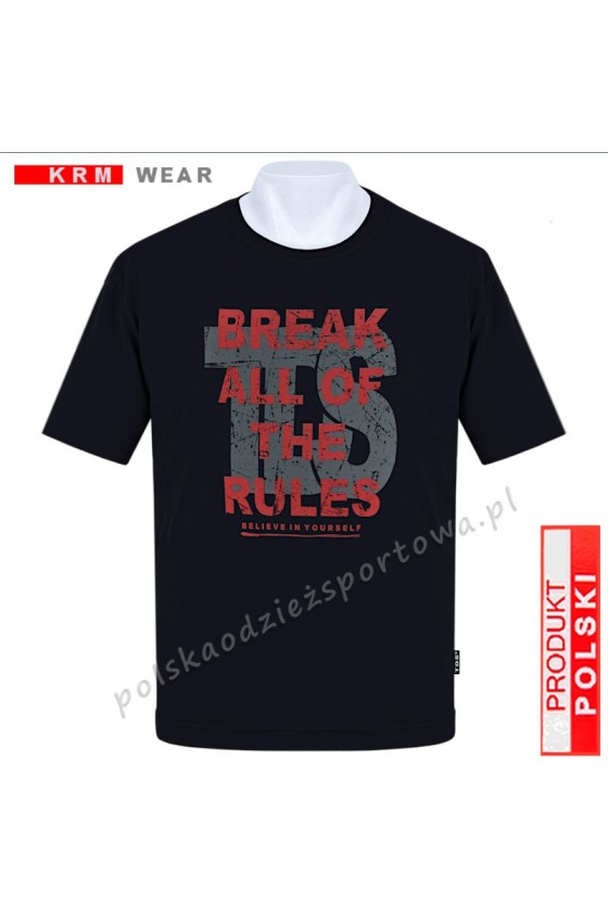 Koszulka Sportowa TS BREAK czarna