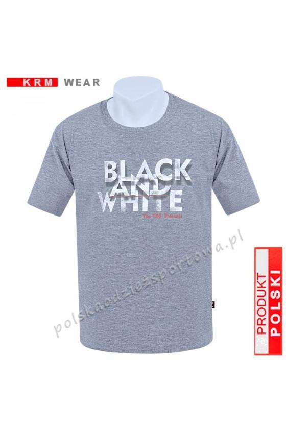 Koszulka sportowa TS B&W melanż