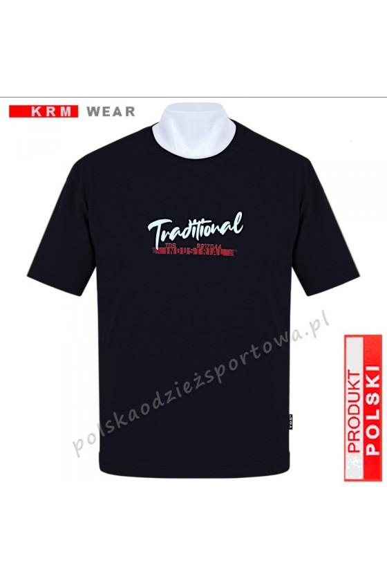 Koszulka sportowa TS TRADITIONAL  czarna