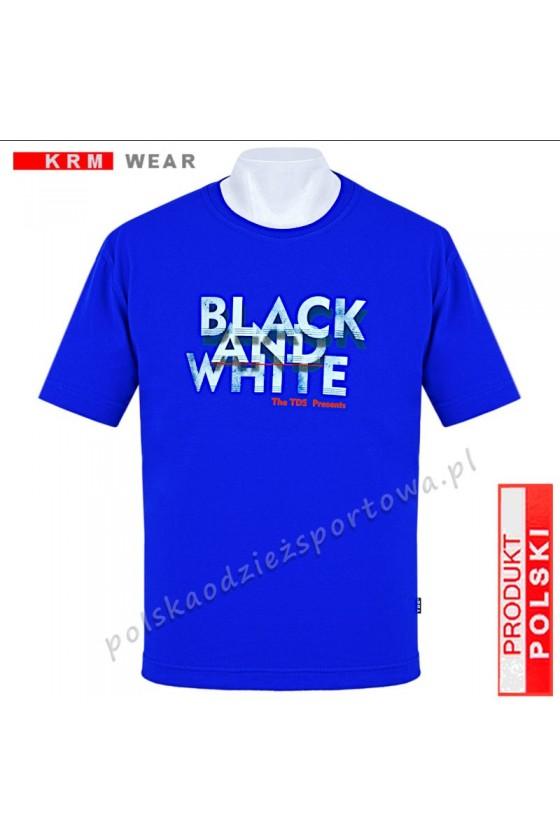 Koszulka sportowa TS B&W niebieska