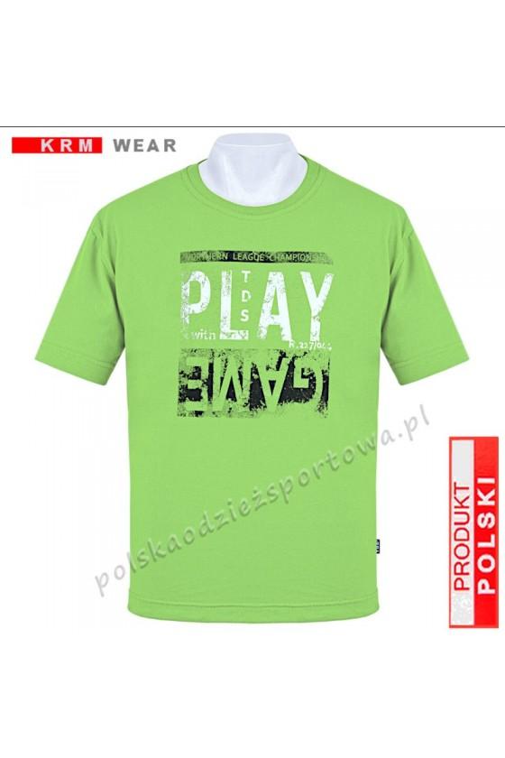 Koszulka sportowa TS PLAY seledyn