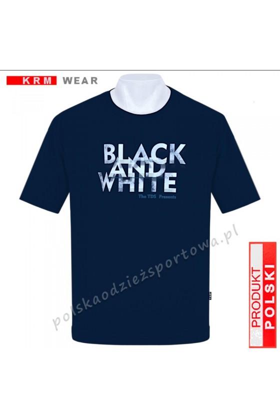 Koszulka sportowa TS B&W granat