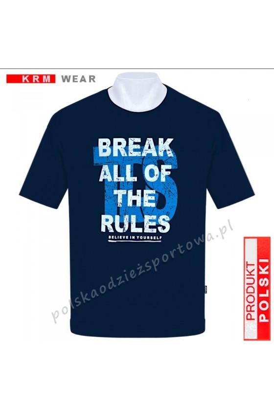Koszulka Sportowa TS BREAK granat
