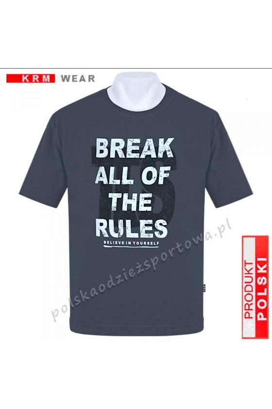 Koszulka Sportowa TS BREAK grafit