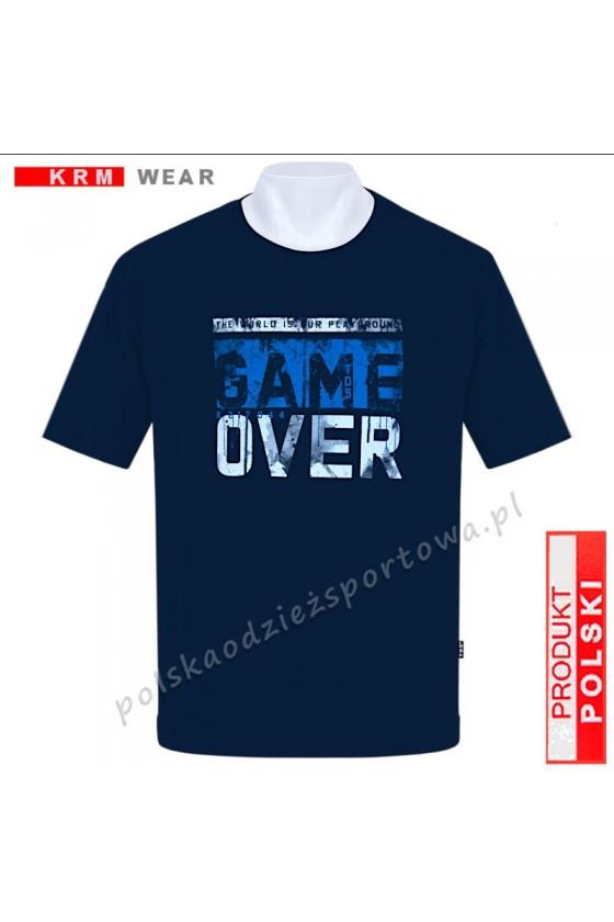 Koszulka sportowa TS GAME granat