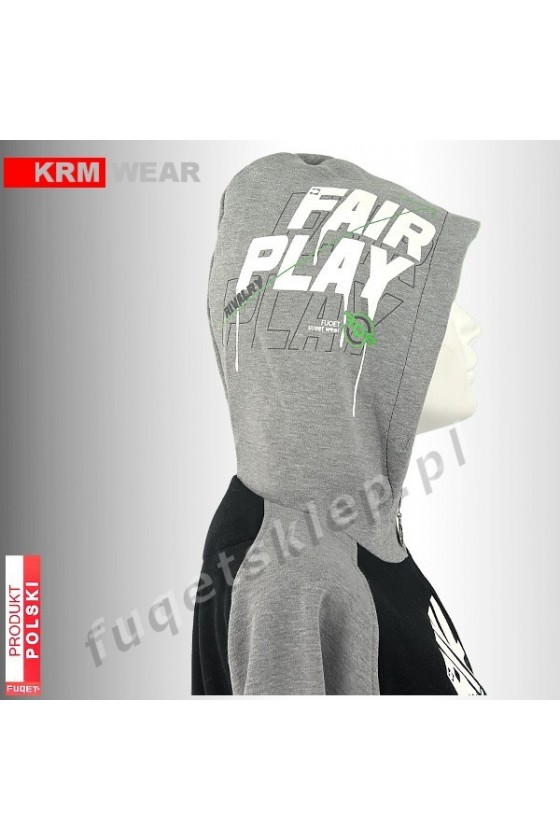 Bluza FUQET RIVALRY FAIR PLAY  MD G czarna