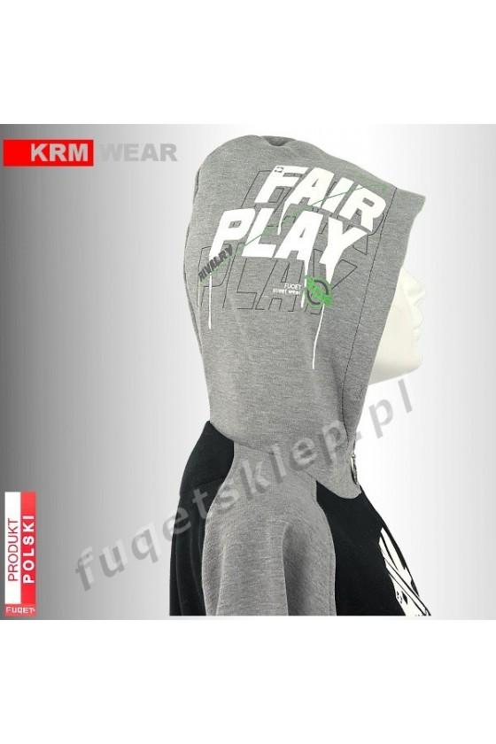 Bluza FUQET RIVALRY FAIR PLAY  MD G czarna