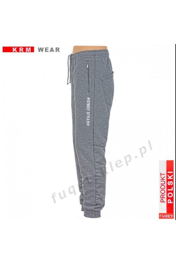 Spodnie STREET STYLE PDS melanż