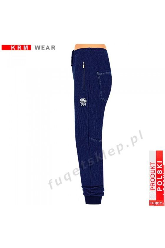 Spodnie bawełna DON'T PANIC PDS jeans