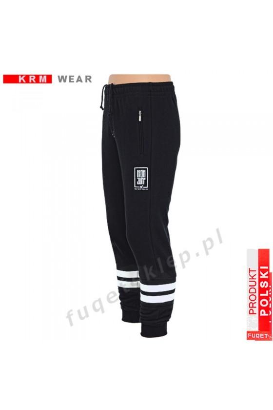 Spodnie  HIGH JUMP DSP czarne