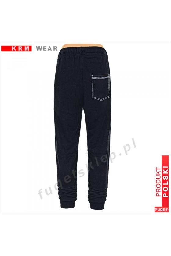 Spodnie Stay Strong obniżony Stan DS-P czarne