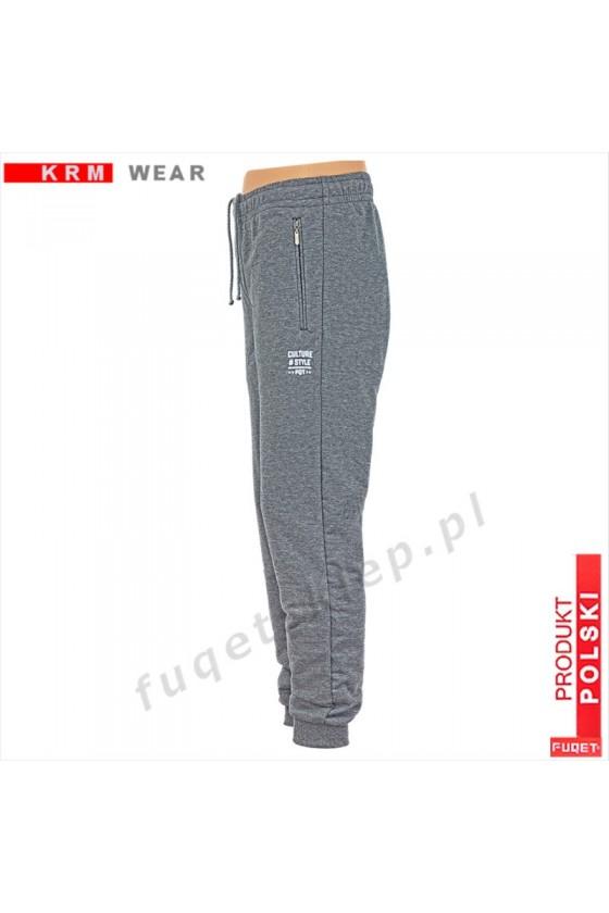 Spodnie Stay Strong obniżony Stan DS-P melanż