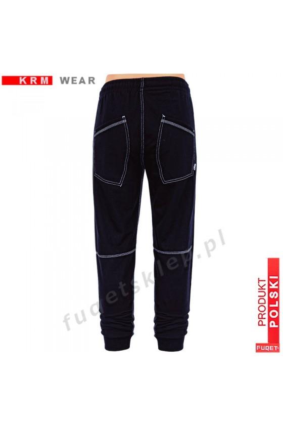 Spodnie bawełna ''FUQET 93'' DSP czarne