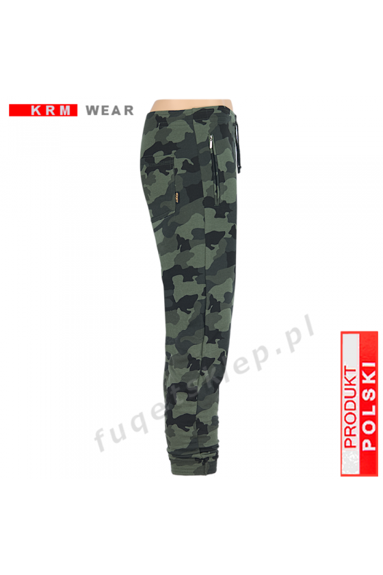 Spodnie JOGGER MORO DSP  military