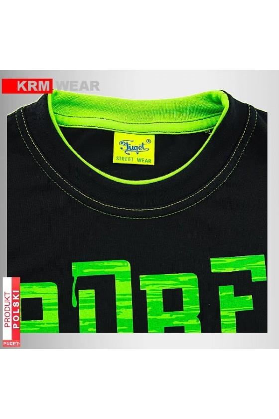 Koszulka FUQET ADRENALINA DS czarny/ziel.