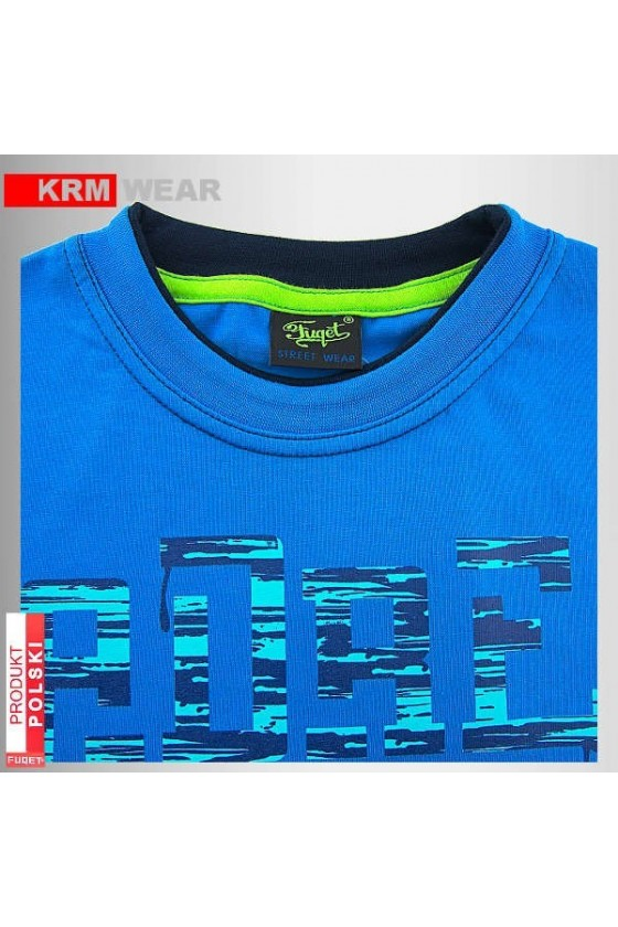 Koszulka FUQET ADRENALINA DS niebieska