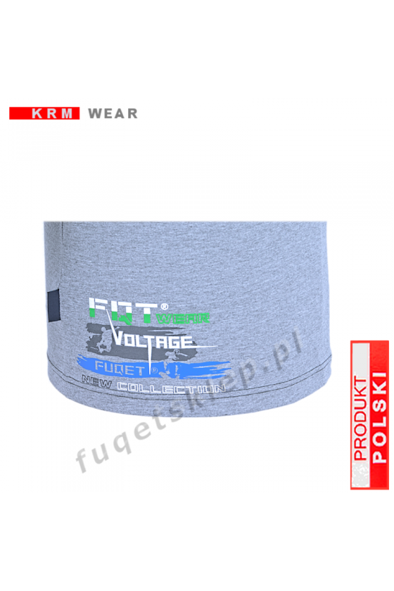 Longsleeve FUQET - HIGH VOLTAGE melanż