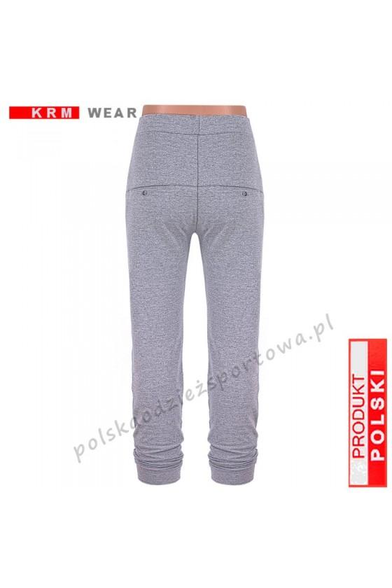 Spodnie bawełna TS 172  PMD melanż
