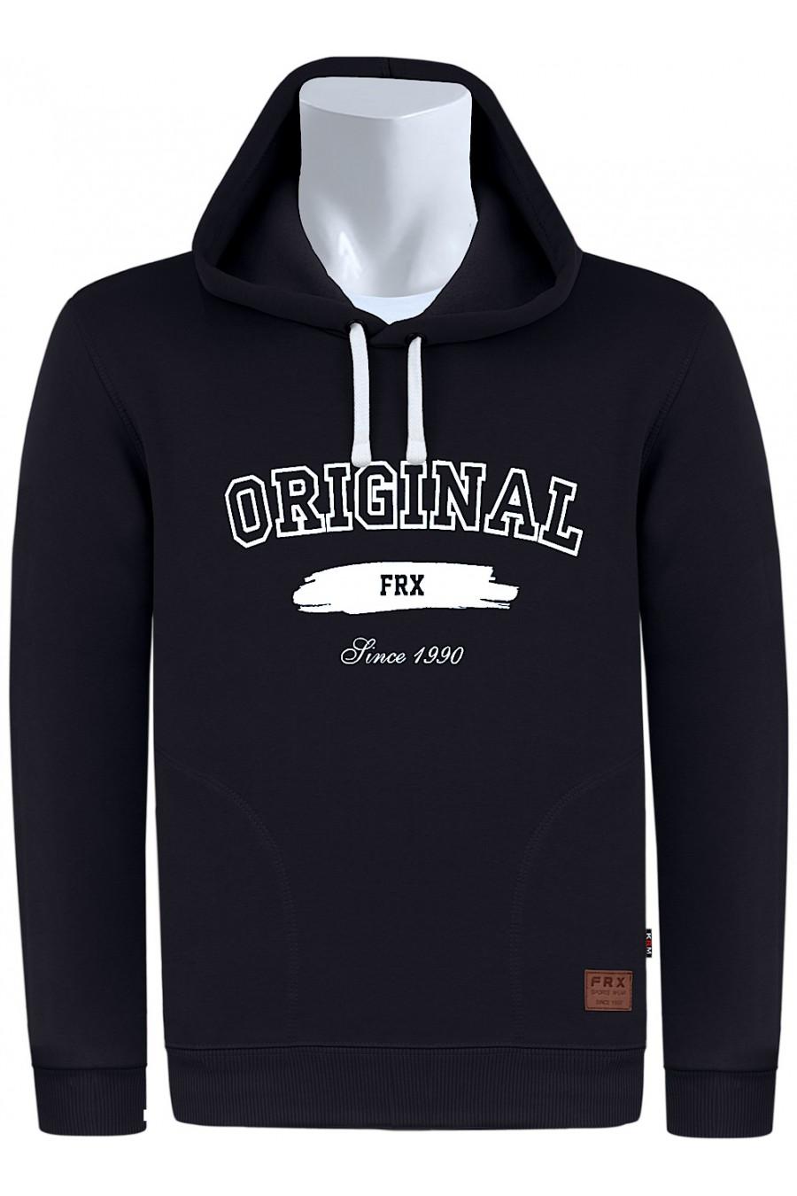 Bluza z kapturem FR/K M-8XL czarna