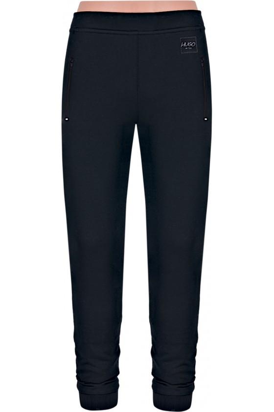 Spodnie TSP SPORT ściągacz czarny