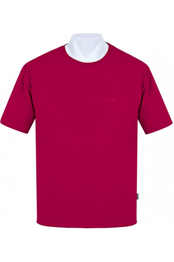 Koszulka Sportowa TS CLASSIC bordo