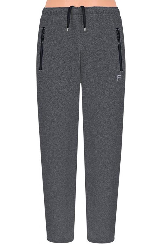 Spodnie sportowe FRP CLASSIC proste grey S-8XL