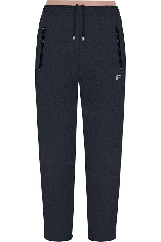 Spodnie sportowe FRP CLASSIC proste antracyt S-8XL