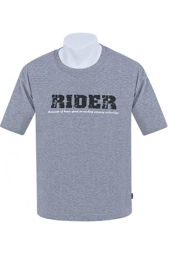 Koszulka S-6XL bawełna F RIDER melanż