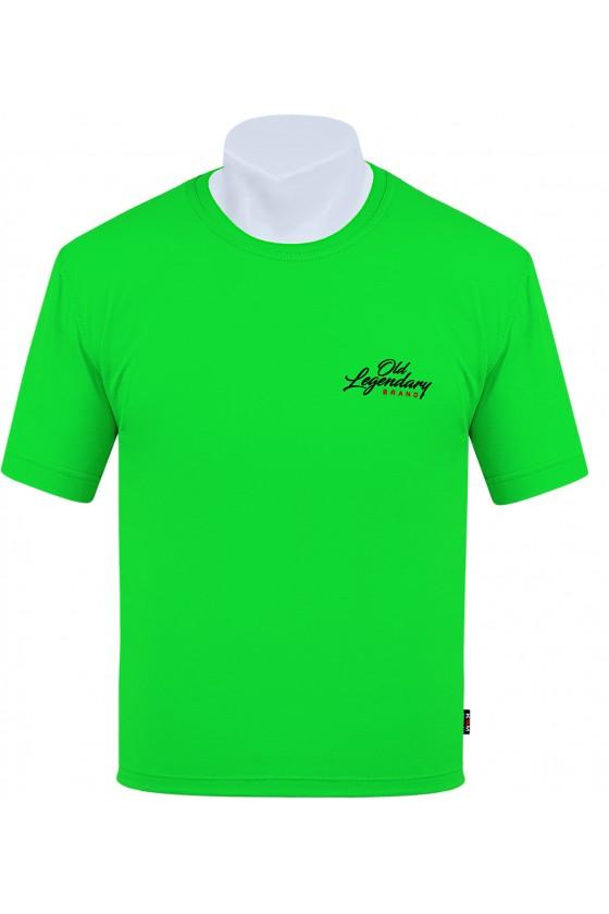 Koszulka S-6XL bawełna F Old Legendary j. zielony