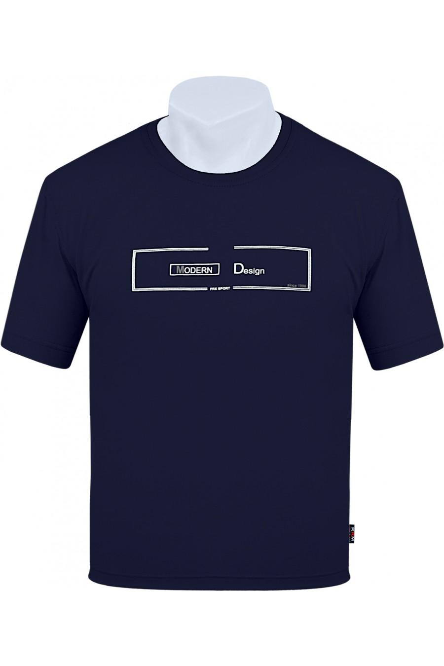 Koszulka S-6XL bawełna F MODERN granat