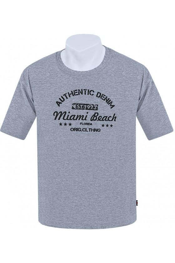Koszulka AUTHENTIC M-8XL bawełnamelanż