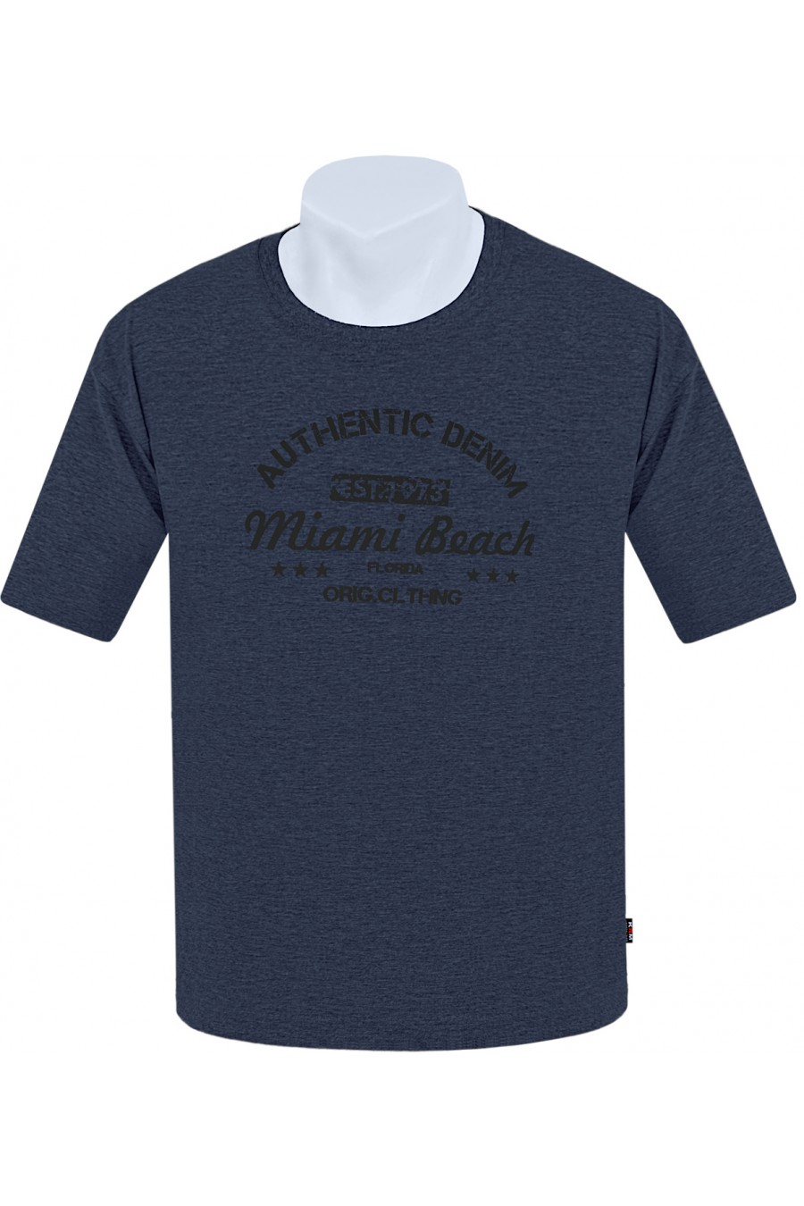 Koszulka AUTHENTIC M-8XL bawełna jeans