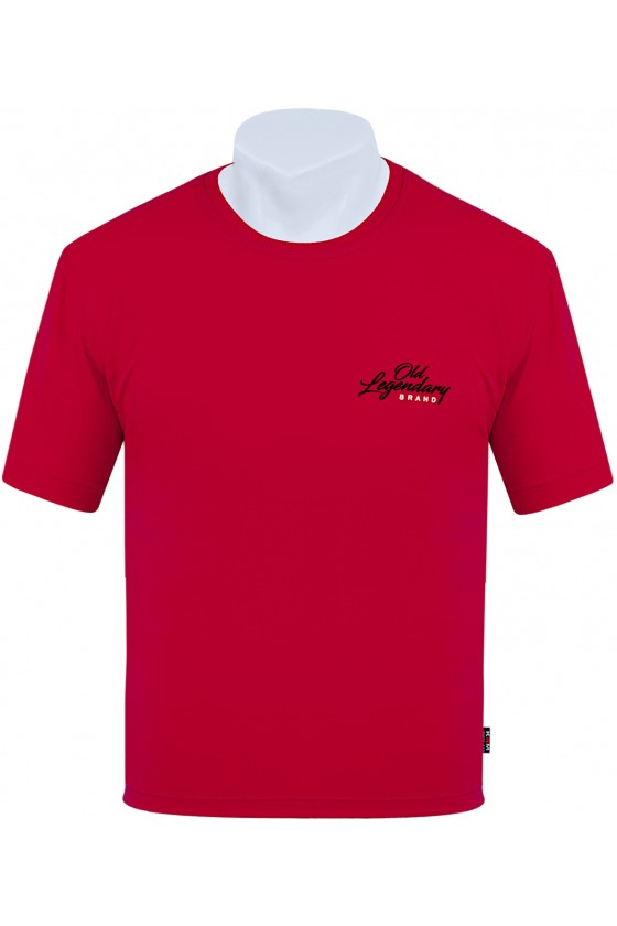Koszulka S-8XL bawełna F Old Legendary czerwona