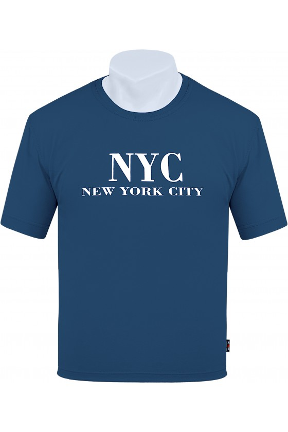 Koszulka NEW YORK CITY M-8XL bawełna czerwona