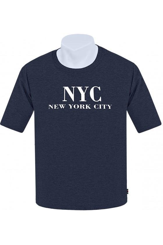 Koszulka NEW YORK CITY M-8XL bawełna jeans
