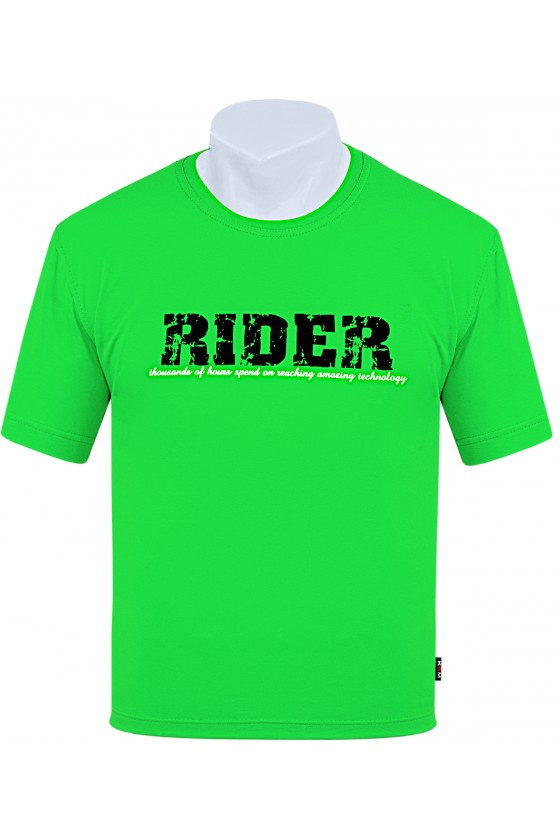 Koszulka S-6XL bawełna F RIDER zielona