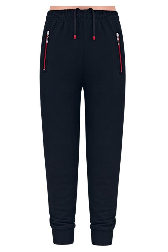 Spodnie sportowe EB ściągacz czarne