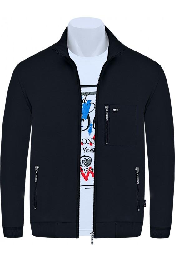Bluza sportowa TSP CLASSIC czarna