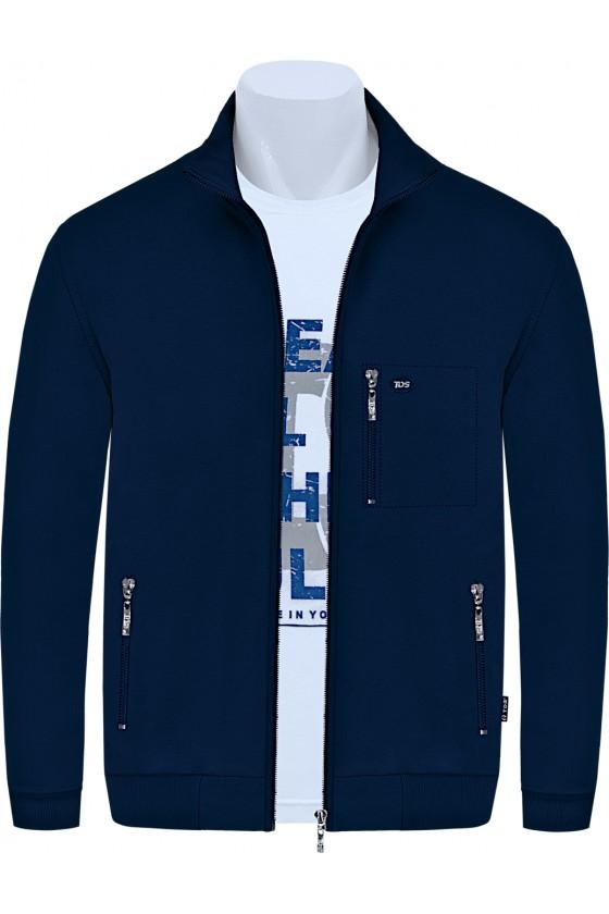 Bluza sportowa TSP CLASSIC granatowa